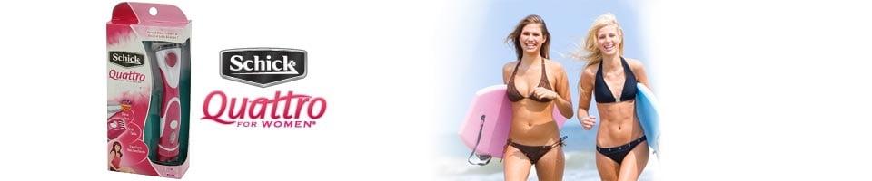 Schick Quattro for Women Trimstyle Razor and Bikini Trimmer