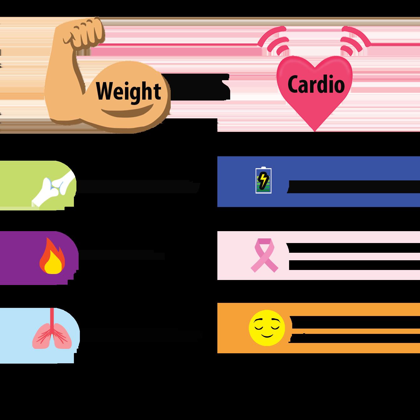 cardio exercises equipment