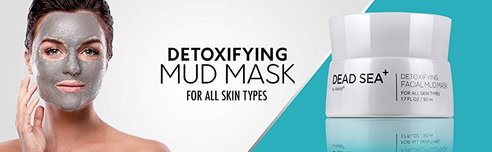 Dead Sea+ by AVANI Detoxifying Facial Mud Mask