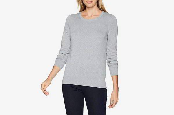 Amazon Necessities Women's Light-weight Crewneck Sweater