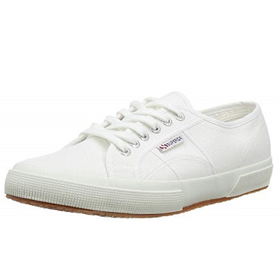 Smart white trainers 1