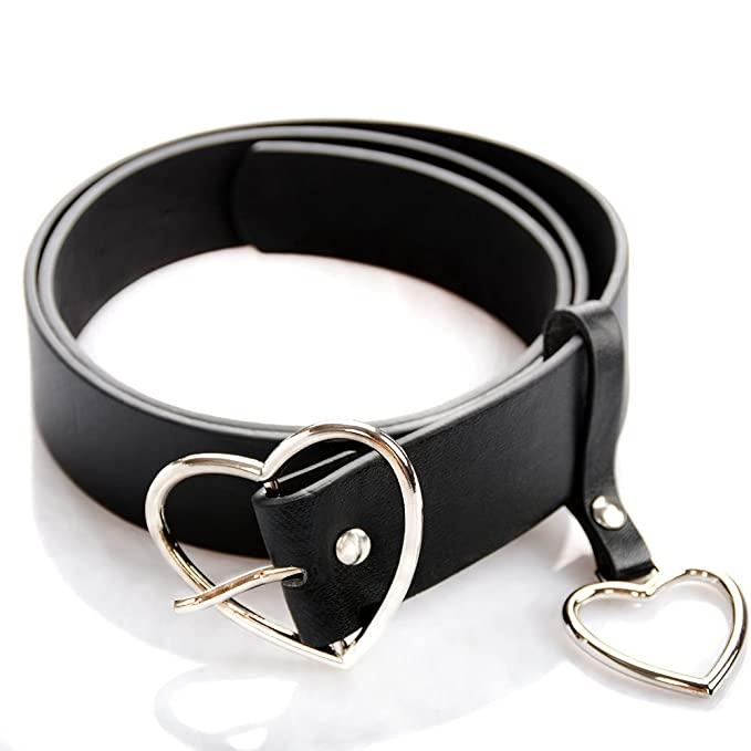 UTENEW Heart Shape Belt For Women 2