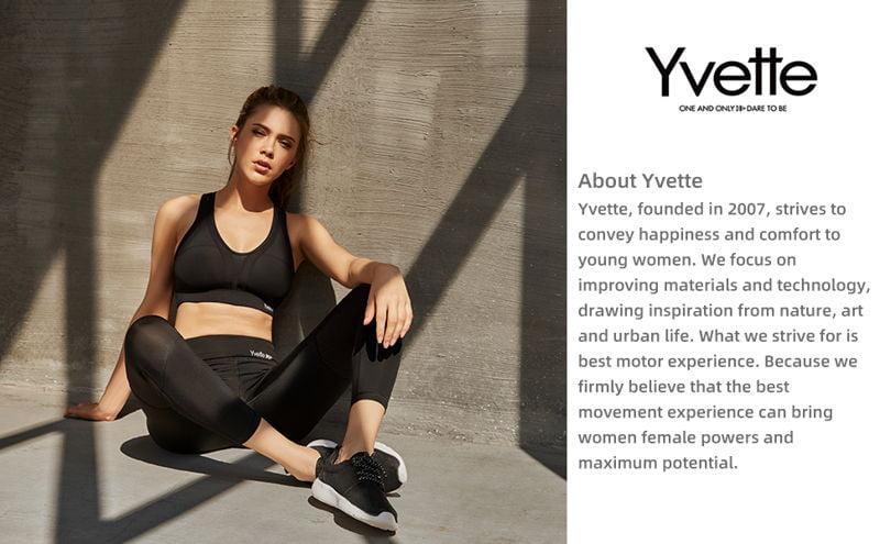 Yvette Women High Impact Sports Bras 2