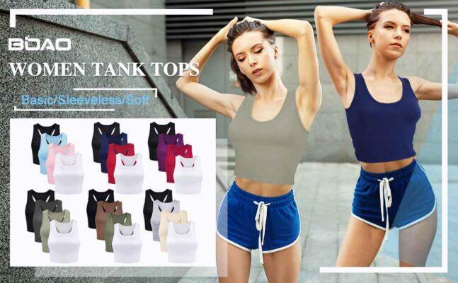boao women fitness tank top