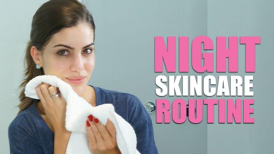 night time skincare