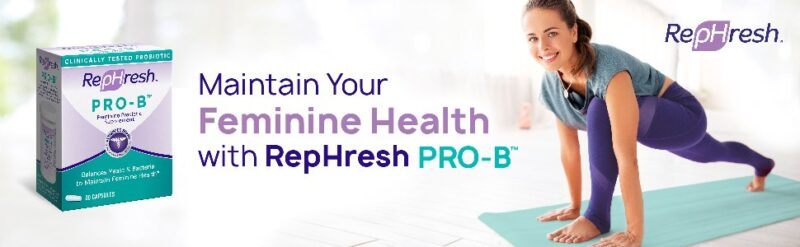 rephresh best probiotics for women