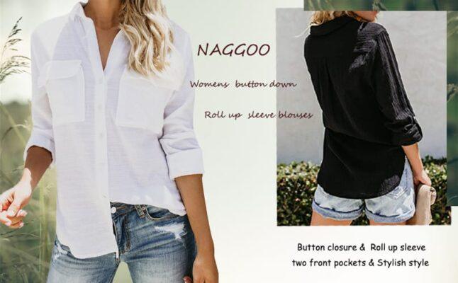 Naggoo Womens Blouses
