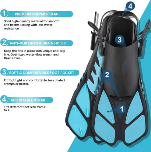 Snorkeling Set and Gear