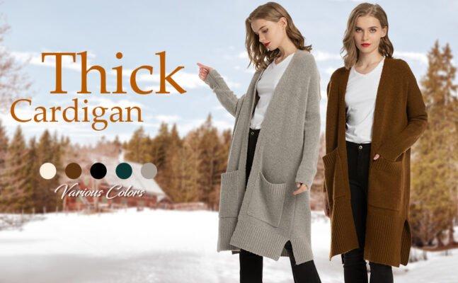 Women Button down duster cardigan
