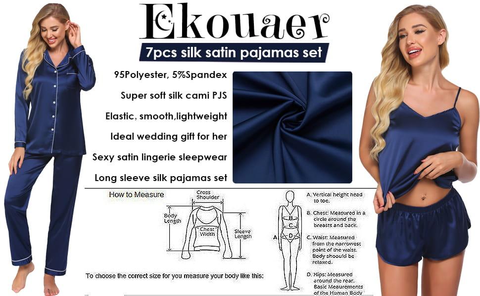 Womens Pajamas Gift Set