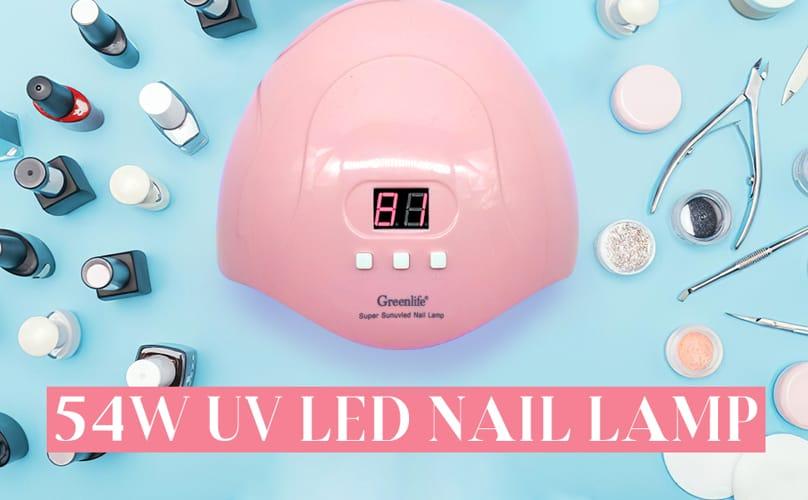 GreenLife UV LED Nail Lamp