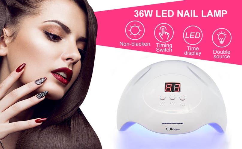 UV LED Nail Lamp PHIAKLE Professional Nail Dryer