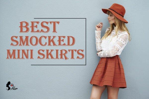 Best smocked mini skirts