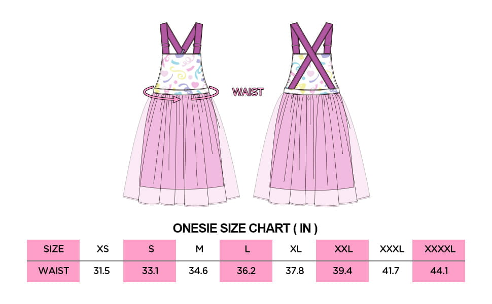 Confetti Princess Overall Skirt 1