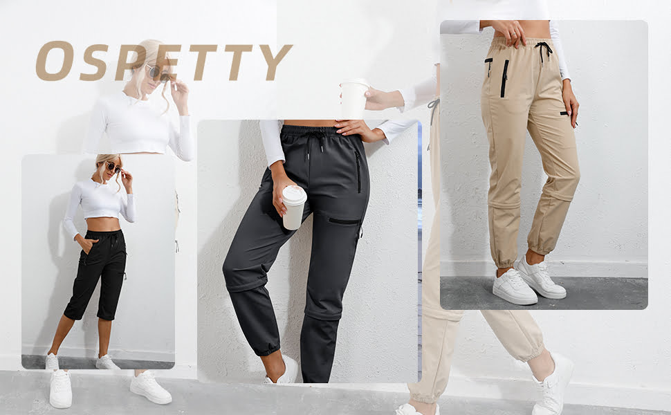 Pants with 4 Zipper Pockets