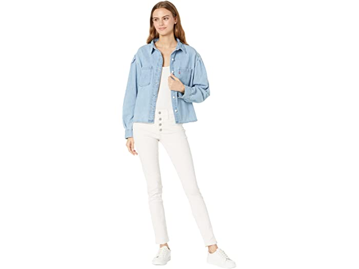 Levis Womens Kinsley Utility Button up Top