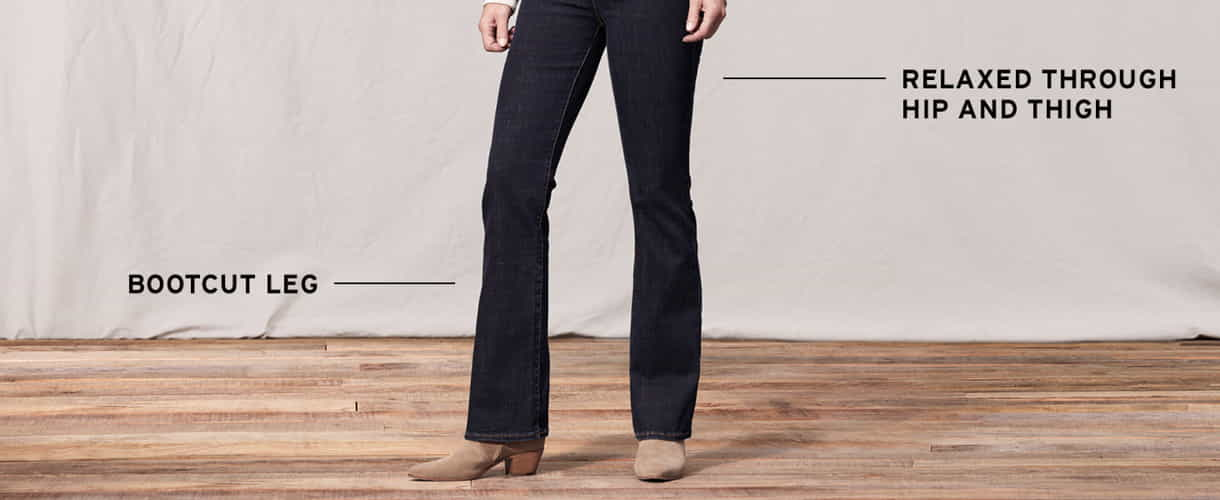 Womens Bootcut Jeans 1 1